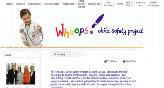 Whoops Child Safety